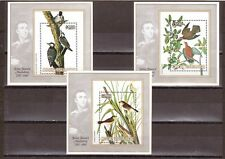 COOK ISLANDS, 1985 JOHN AUDUBON, (BIRDS) SG M/S 1021 (3), MNH, CAT £13