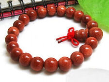 Stretchy Tibetan 21 Energy Goldstone Buddhism Prayer Beads Wrist Mala Bracelet