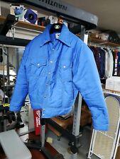 Vintage Black Bear Down Jacket Retro Blue Size xl Seattle WA rare goose bomber