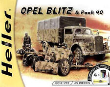 Heller 1:72 (49994): Opel Blitz and Pak 4 with 4 Colours