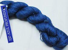 AZUL PROFUNDO BLUE 420y Skein Malabrigo BABY SILKPACA Alpaca+Silk SOFT LACE YARN