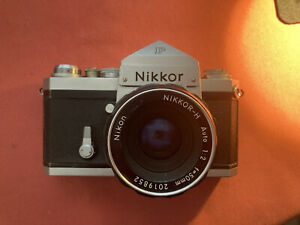 German Nikkor F Nikon F With Lens And Finder