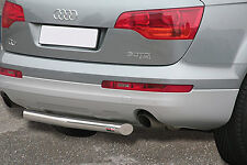 PROTECTION ARRIERE AUDI Q7 2006- HOMOLOGUE INOX DIA 60mn,