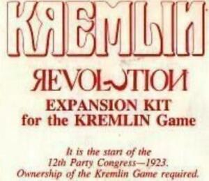 Avalon Hill Boardgame Kremlin - Revolution Expansion VG