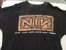 Nine Inch Nails / 1994 - Downward Spiral Tour Vintage T-Shirt - Xl - Nice !