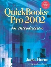 QuickBooks Pro 2002: An Introduction