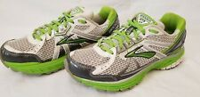 BROOKS ADRENALINE GTS-13 LIME/SILVER/WHITE RUNNING SHOES WOMENS SIZE 7.5  VGPC!