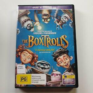 The Boxtrolls | DVD Movie | Family/Comedy | 2014 | Ben Kingsley, Elle Fanning