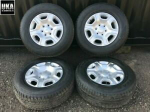 """Roues Alliage Ford Ranger Limited Pneus 265 65 17 17 """" Goodyear S16"""