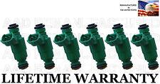 OEM Bosch  6x Fuel Injectors for Hyundai Kia 2005-2010 1.6L 2.0L 2.4L 2.5L 2.7L