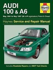 New Audi 100 & A6 Petrol & Diesel (May 91 - May 97) Haynes Repair Manual