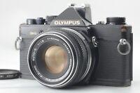 [AS-IS] Olympus OM-2N 35mm SLR Film Camera Black Body w/ Auto-S 50mm f/1.8 #O570