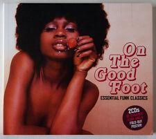 ON THE GOOD FOOT / ESSENTIAL FUNK CLASSICS / 2 X CD SET / 40 TRACKS
