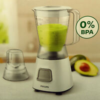 PHILIPS 450 W Mixer 1,25L + Mühle. Smoothie-Maker Standmixer Eis-Crusher Blender