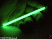 100mm Self Illumination Tritium Gas Glowing β Light  Tube Crystal Acrylic Cuboid