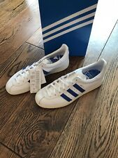 Adidas SNS GT Stockholm Trainers White Blue Leather Size UK 9 US 9.5 FV7933 BNIB