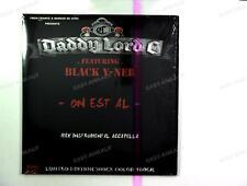 Daddy Lord C - On est al / Pas la pour rien Maxi 2009 + Innerbag /3
