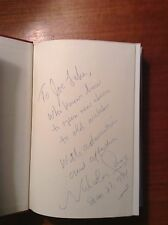 "Nicholas Gage ""A Place For Us"" 1st. Hcdj Signed."