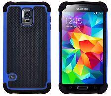 GizzmoHeaven Samsung Galaxy S5 Shock Proof Phone Case Heavy Duty Hard Stylish -