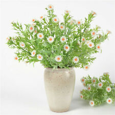 Artificial Fake Bouquet Small Daisy Chrysanthemum Branch Plants Home Decor D