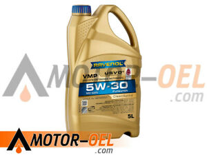5 Liter RAVENOL VMP SAE 5W-30 Vollsynth Motoröl Made in Germany