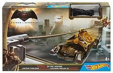 Hot Wheels Batman Zip-Line Launcher Track Set W/ Batmoile Vehicle New