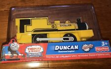 2011 Fisher-Price Thomas and Friends Trackmaster Duncan Train New