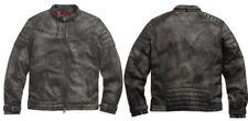 Harley Davidson BLACK LABEL Factory Distressed Leather Jacket 97185-10VM XL