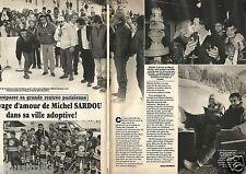 Coupure de presse Clipping 1985 Michel Sardou  (2 pages)