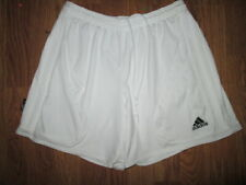 Mens ADIDAS CLIMALITE athletic soccer shorts sz M Md Med
