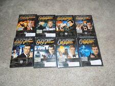 James Bond DVD Lot of 8 Movies