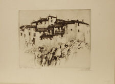 "A.C Webb Etching: ""Cliff Dwellings"" (Ed.35/75)"