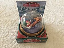 Blockbuster Whirl Arounds Rudolph The Red Nosed Reindeer Ornament..NIB