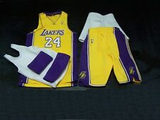 Enterbay Ver 2.0 Kobe Bryant 1/6 Lakers Home Team Jersey fit Jordan Body Custom