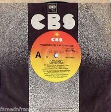 "CHICAGO - LITTLE ONE - RARE 7"" 45 PROMO VINYL RECORD - 1977"
