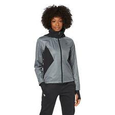 Under Armour женские производительность Gore Windstopper куртка топ черно серые спортивные