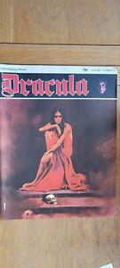 Dracula Comic #3 New English Library 1970's Esteban Maroto - Very good condition