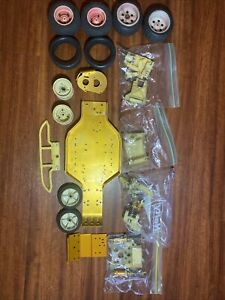 Vintage RC10 Gold Pan A Stamp with Parts