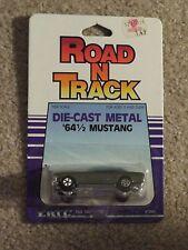 ERTL Die-cast Road N Track 1964 1/2 '64 1/2 Ford Mustang 1:64 Scale MOC 1986