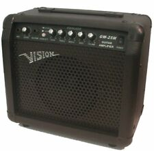 Ampli Guitare Vision Gw-25m 30w Avec Prise Micro Et Distortion