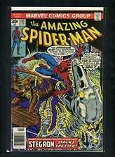 Amazing Spider-Man #165 VG 1977 Marvel vs Stegron Comic Book