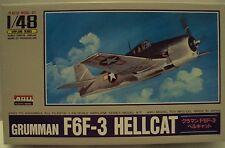 ARII 1/48 Grumman F6F Hellcat US Navy Fighter WWII W/Resin Detail Parts Kit #9