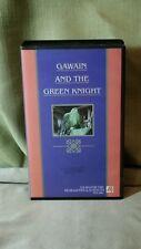Gawain and the Green Knight  OOP VHS RARE  htf