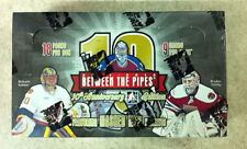 2011-12 In The Game Between the Pipes 10th Anniversary Edition Hockey Box Auto?