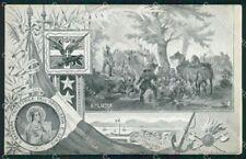 Militari Reggimentale S. Barbara Protettrice Artiglieria Genio cartolina XF6888