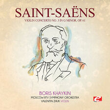 Saint-Saens - Violin Concerto 3 in G Min 61 [New CD] Manufactured On Demand, Rms