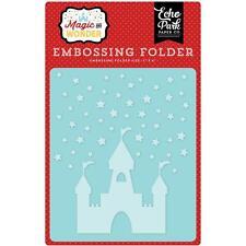 "Echo Park 5x6"" Embossing Folder - STARRY CASTLE - Magic and Wonder"