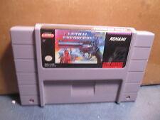 Lethal Enforcers (Super Nintendo Entertainment System, 1994)CART ONLY