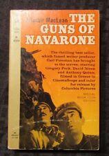 1966 THE GUNS OF NAVARONE Alistair MacLean 1st Permabook Paperback FN+ Movie