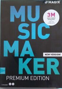 MAGIX Music Maker 2020 Premium - Boxed Sealed Windows 7/8 /10 - 32 and 64 Bit